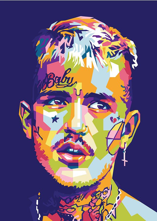 Lil peep artwork