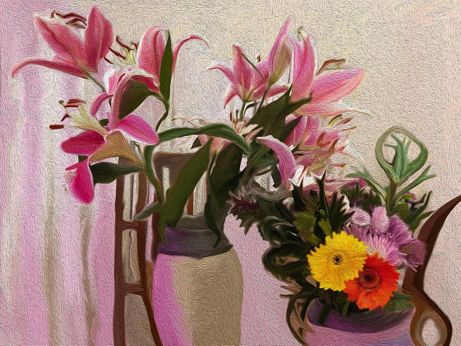 Lillies Digital Art