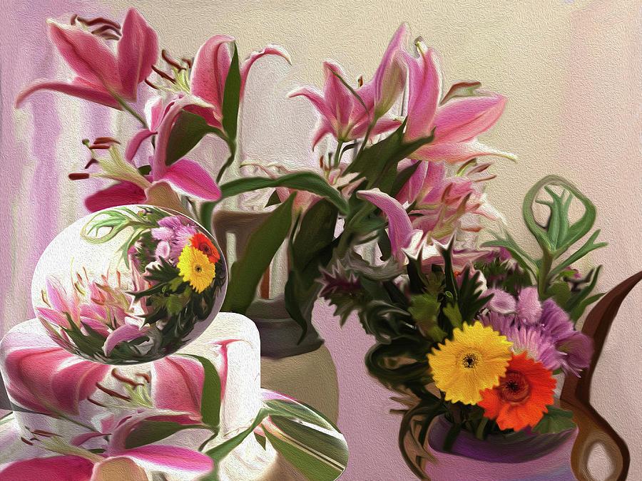 Lily Celebration Digital Art