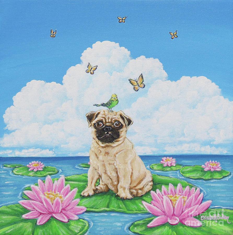 Lily Pug by Elisabeth Sullivan