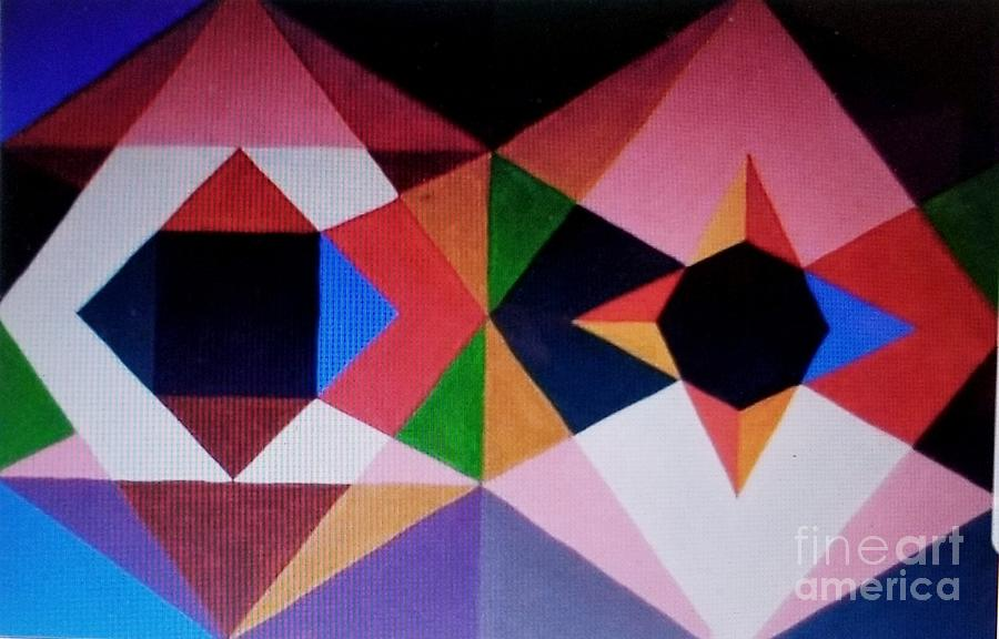 Limited Edition Geometric 88 Painting