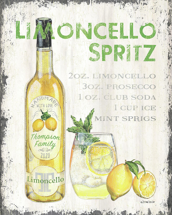 Limoncello 1 Painting