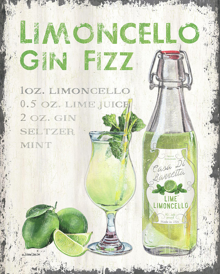 Limoncello 2 Painting