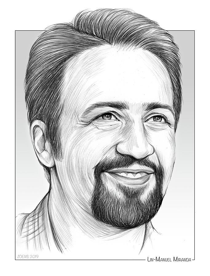 Lin-manuel Miranda Drawing