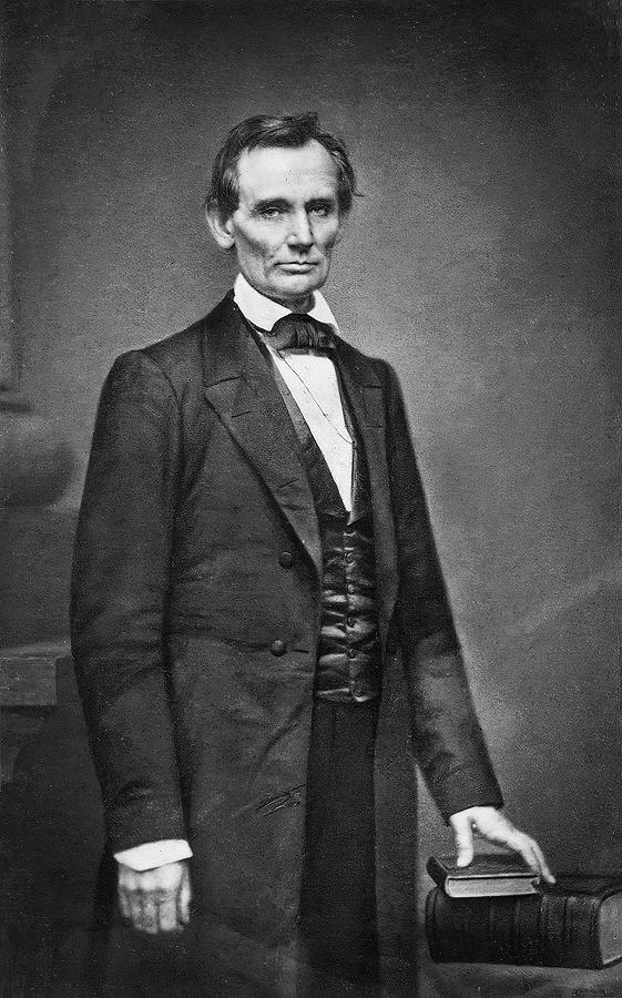 Lincoln By Brady Photograph