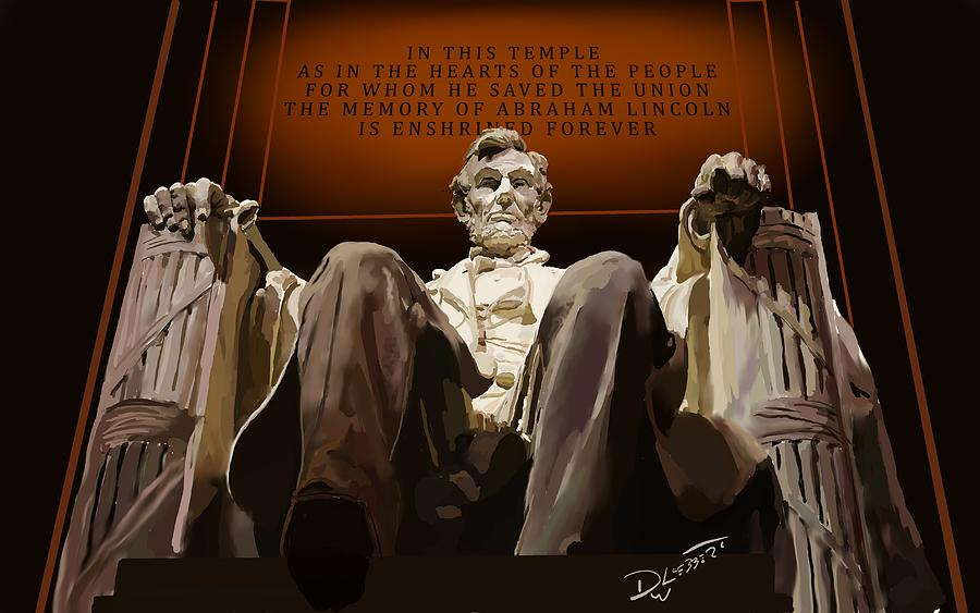 Lincoln Monument by David Luebbert