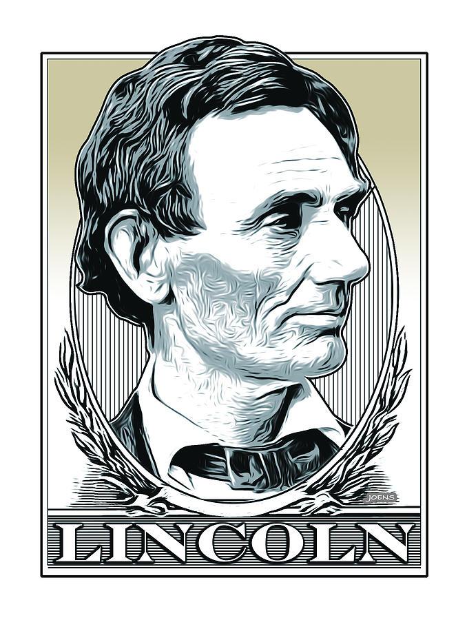 Lincoln Poster Digital Art