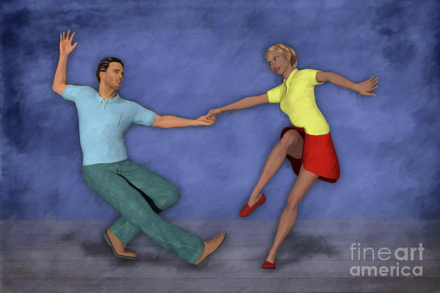 Lindy Hop Painting