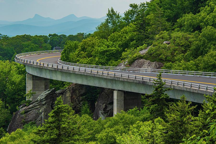 Blue Ridge Mountains Photograph - Linn Cove Viaduct by Melissa Southern