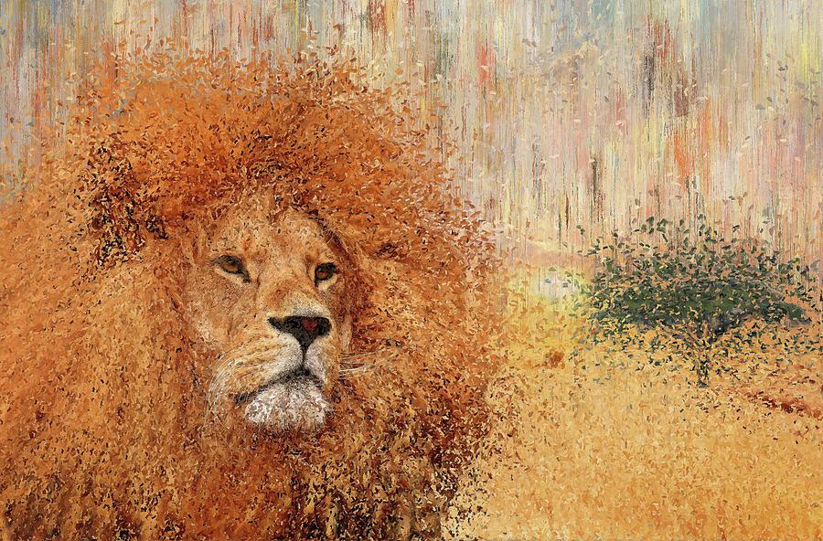 Lion by Alex Mir