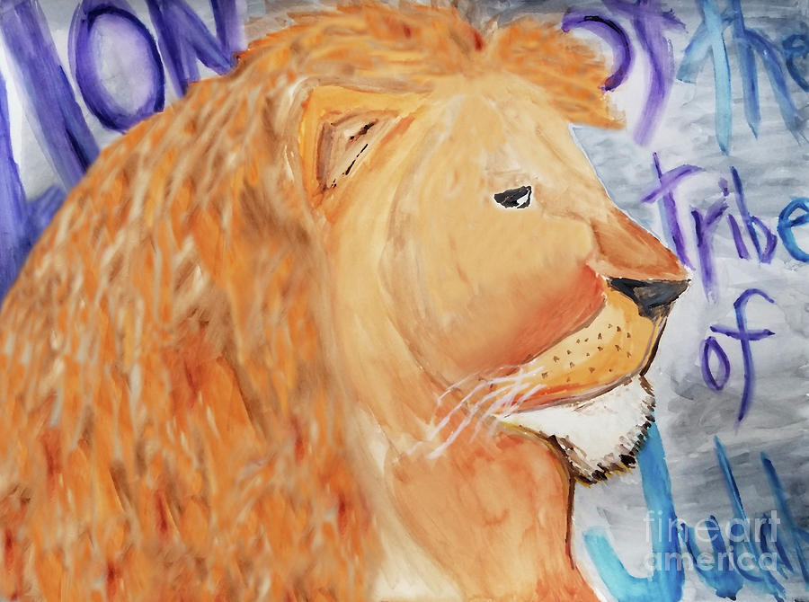 Lion Of The Tribe Of Judah by Curtis Sikes