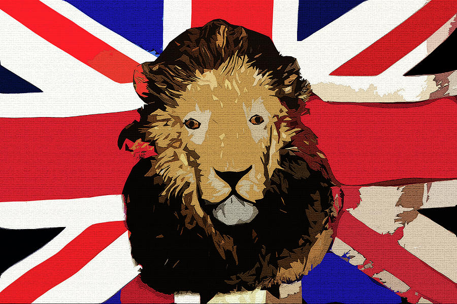 Lionhearted Digital Art