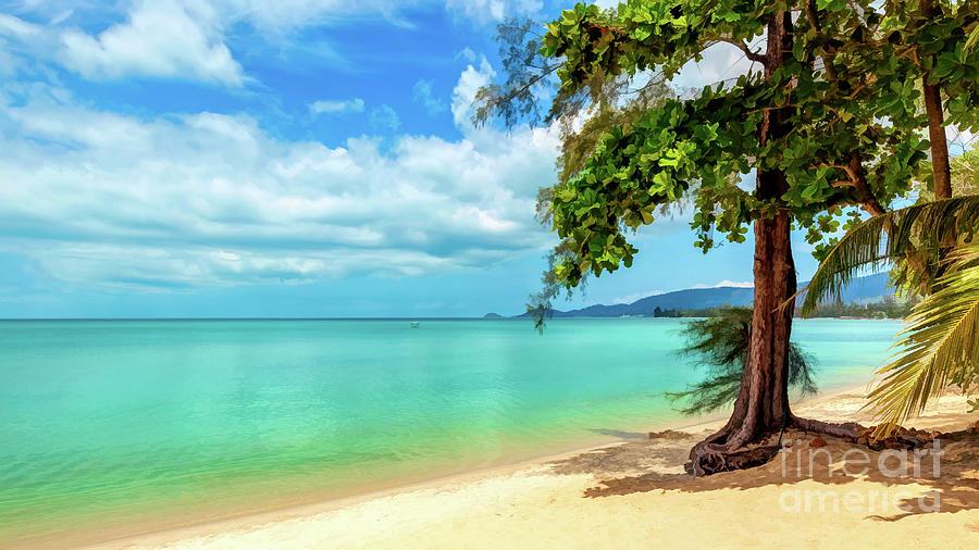 Lipa Noi Beach Thailand by Adrian Evans