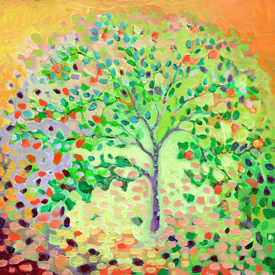 Little Apple Tree Painting
