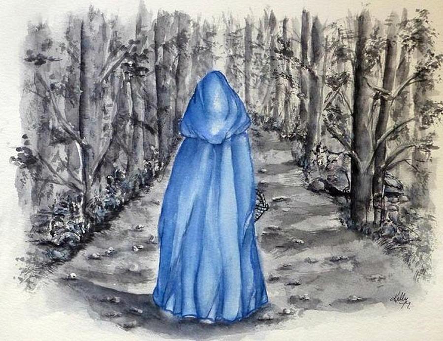 Little BLUE Riding Hood by Kelly Mills