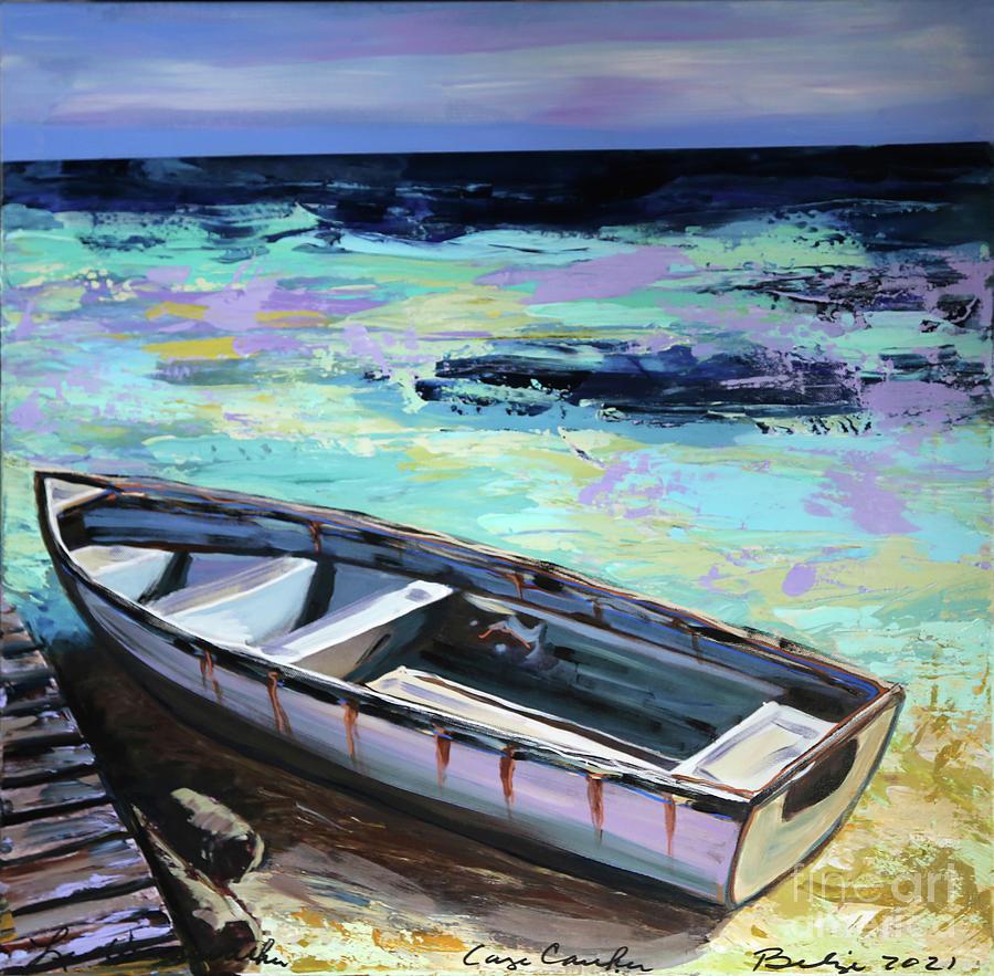 Little Boat Caye Caulker Belize Painting