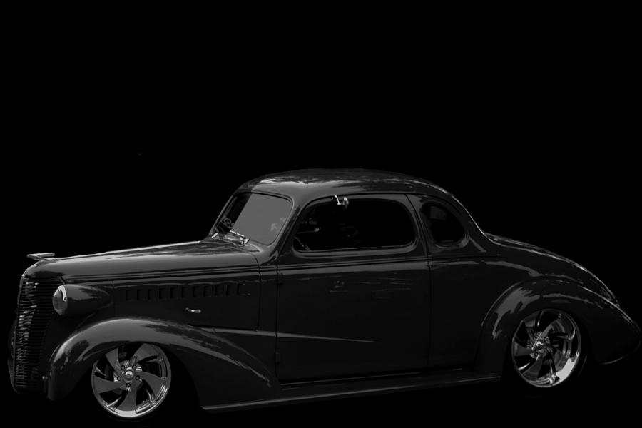 Little Deuce Coupe BW  by Cathy Anderson