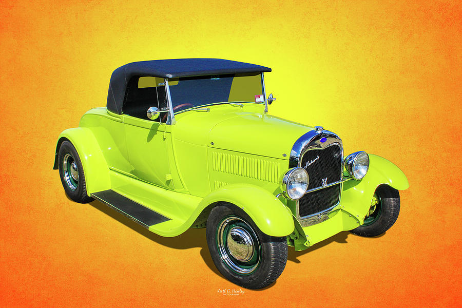 Little Green Roadster by Keith Hawley