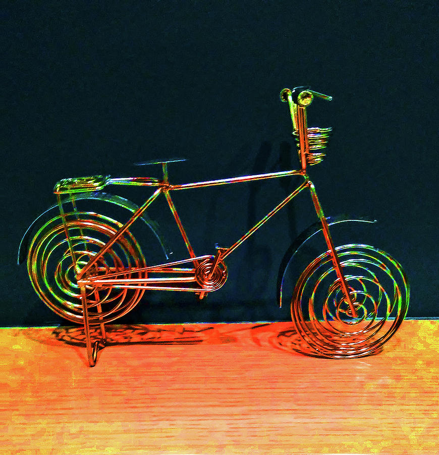 Portrait of a Bicycle by Andrew Lawrence