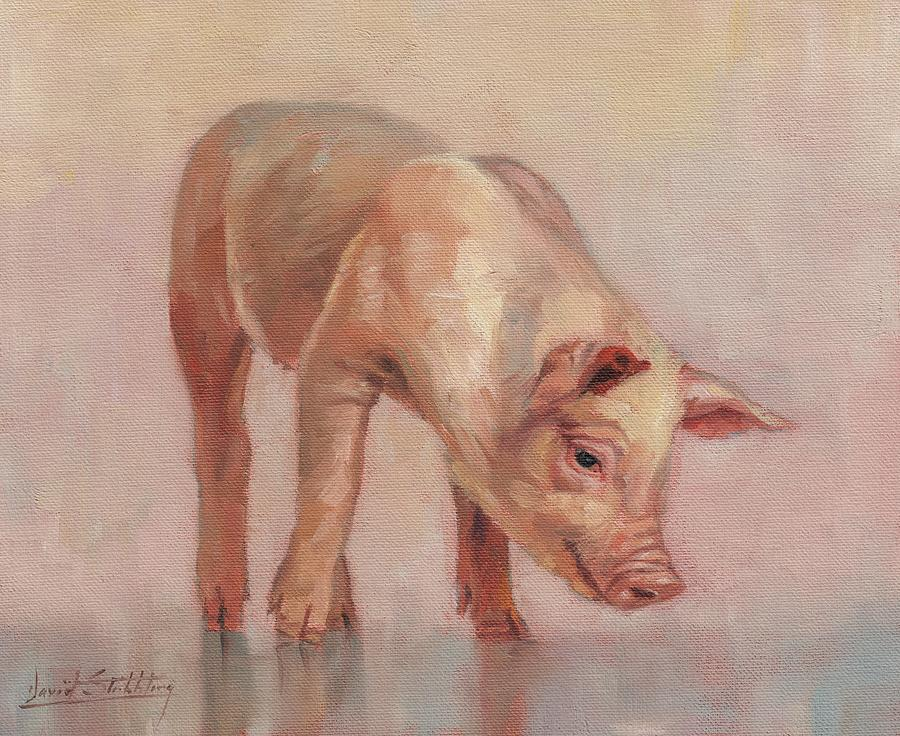 Little Pig Painting