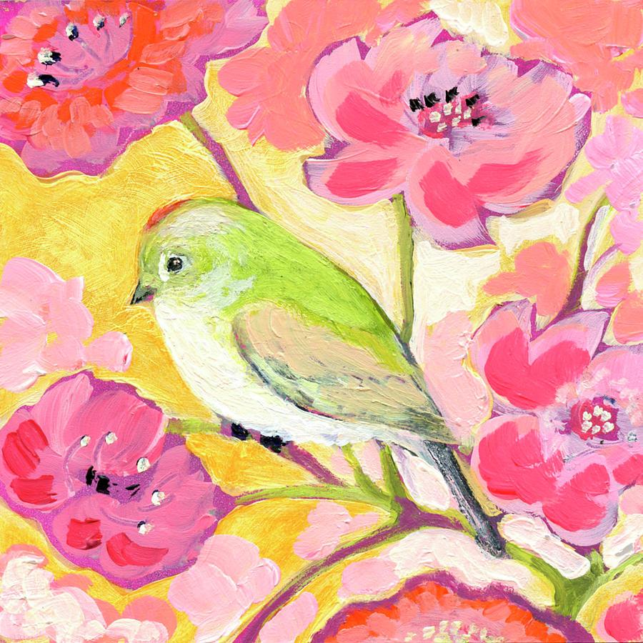 Little Queen In Pink Painting