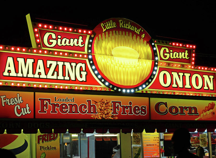 Little Richards Carnival Food Stand Photograph