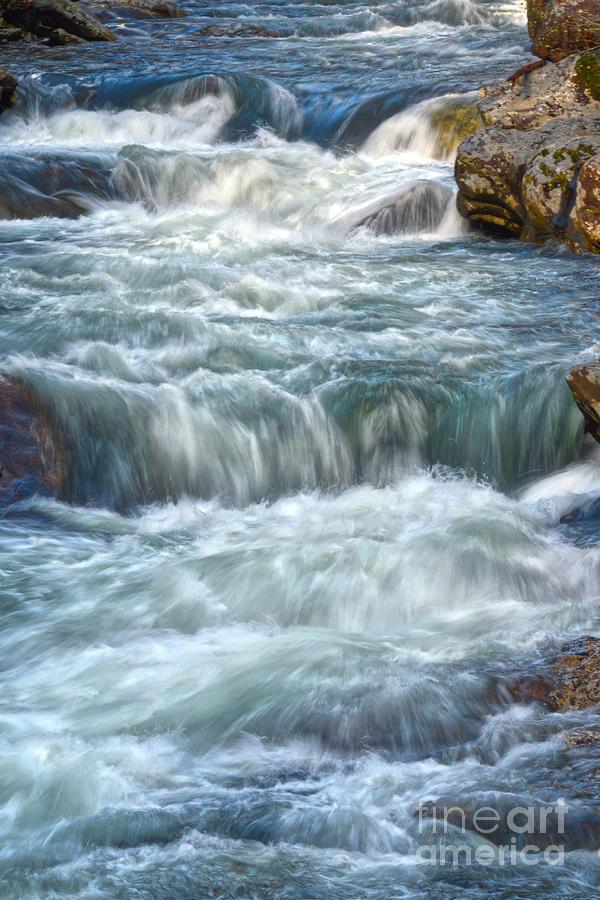 Little River Rapids by Phil Perkins
