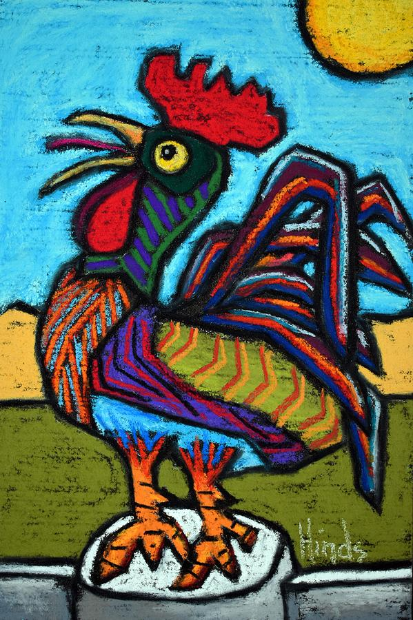Little Rooster Painting