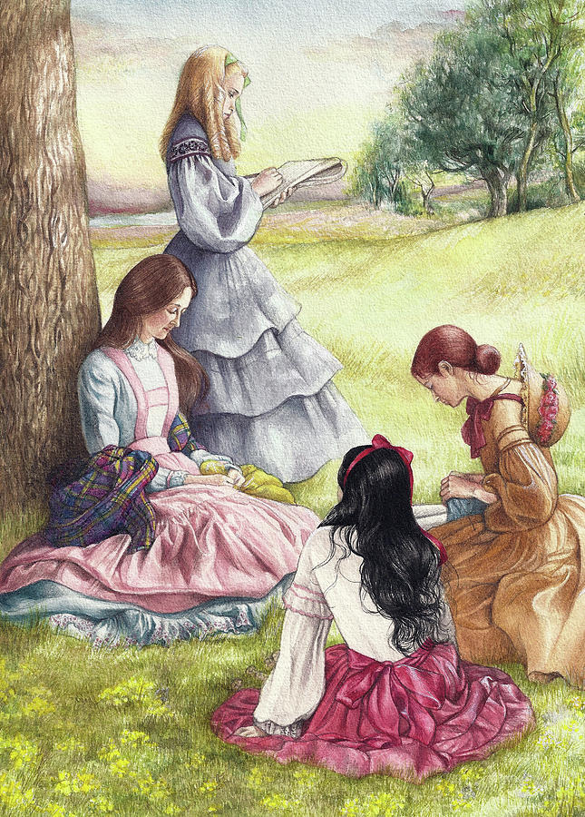 Little Women Illustrated  by Judith Cheng