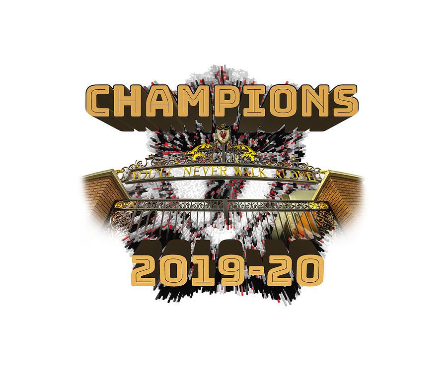 Liverpool Fc Champions Photograph