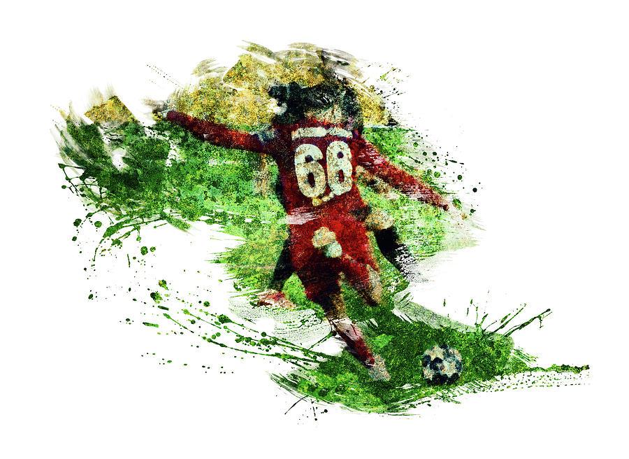 Liverpool Footballer Trent Alexander-arnold Digital Art