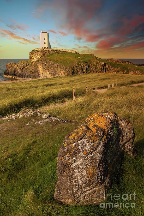 Llanddwyn Tower Anglesey Wales by Adrian Evans