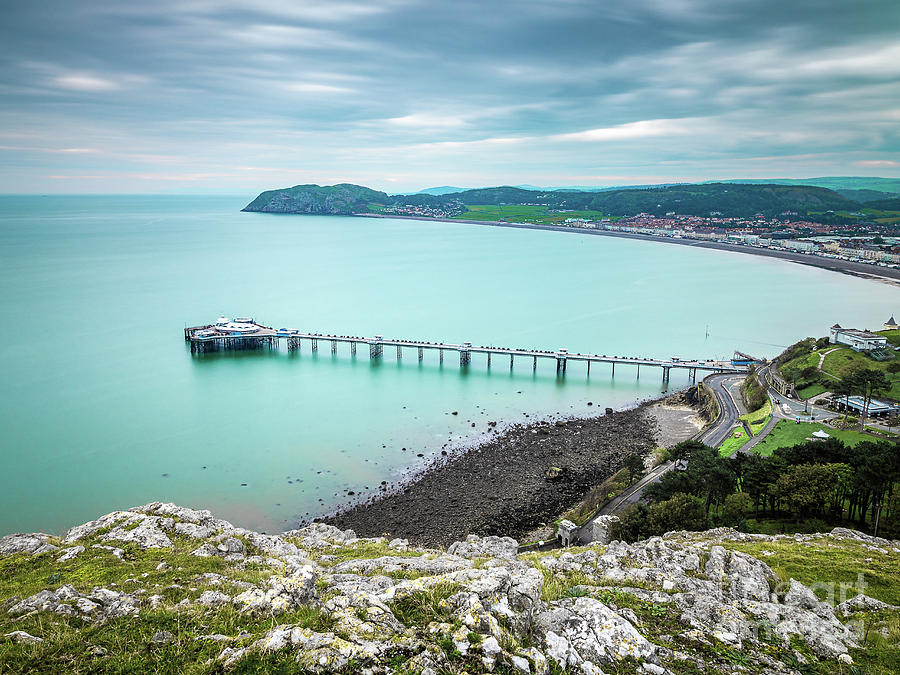Llandudno Pier From The Great Orme Photograph