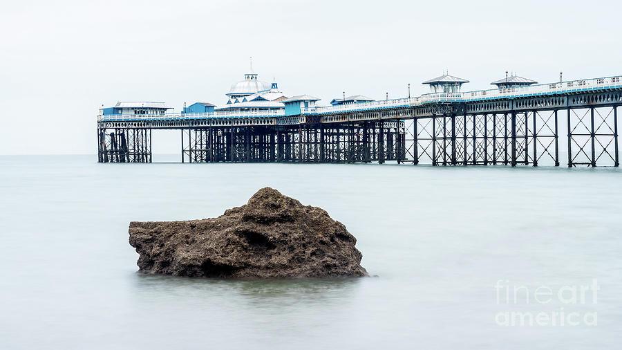 Llandudno Pier On The North Wales Coast Photograph