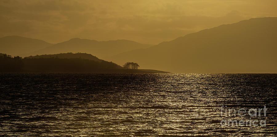 Loch Linnhe Sunset Photograph