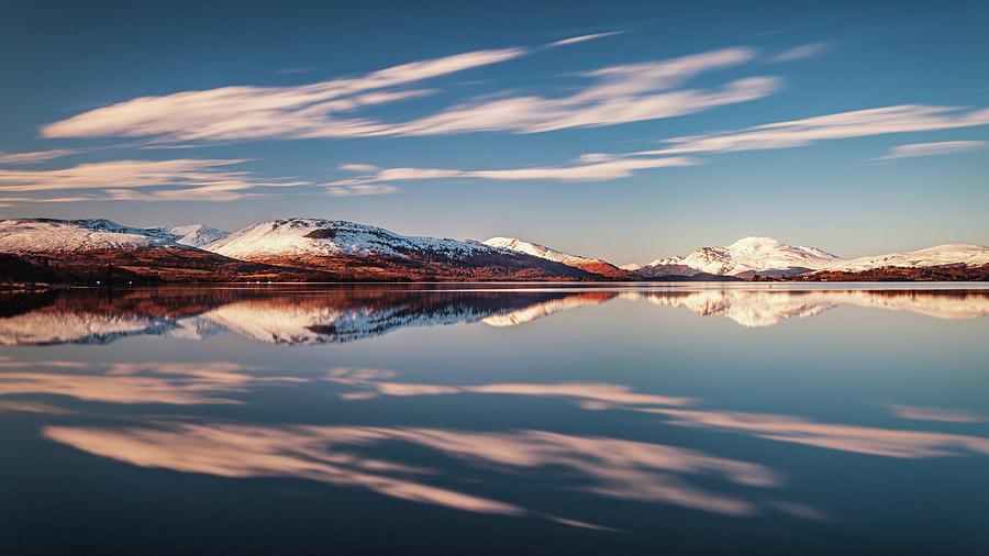 Loch Lomond Winter Reflections Photograph