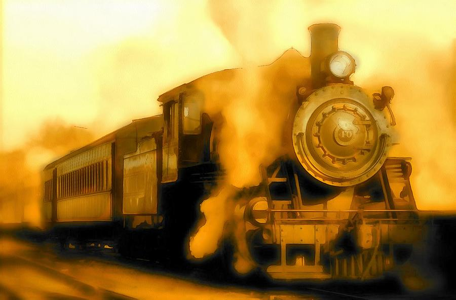 Locomotive 40 For Hogwarts Digital Art