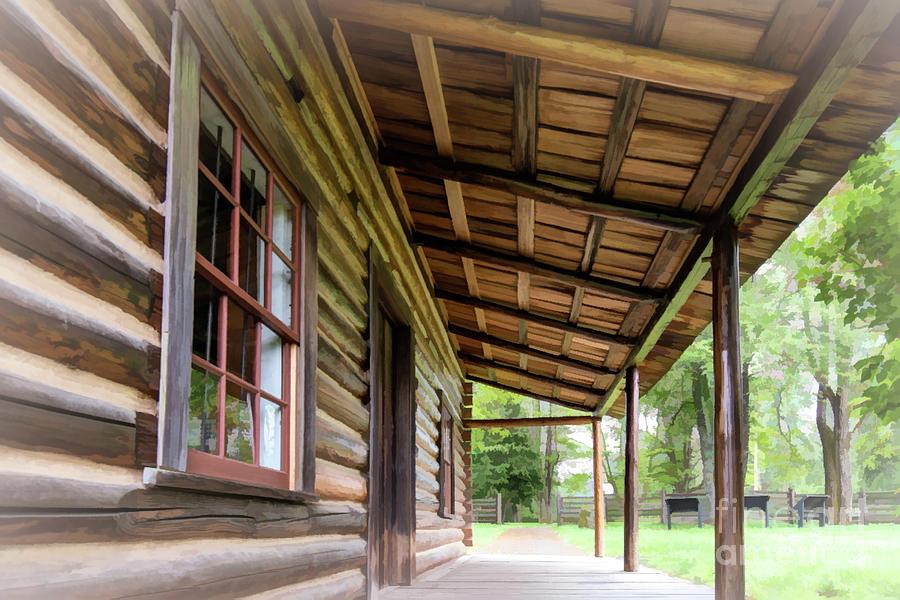 Log Cabin Photograph