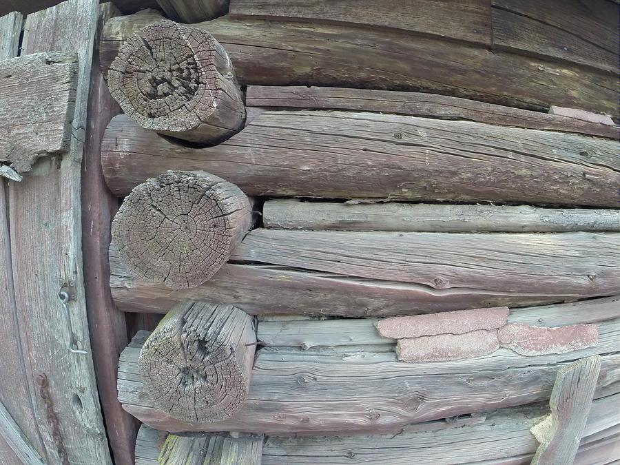 Logs Photograph - Log Jam by YHWHY Vance