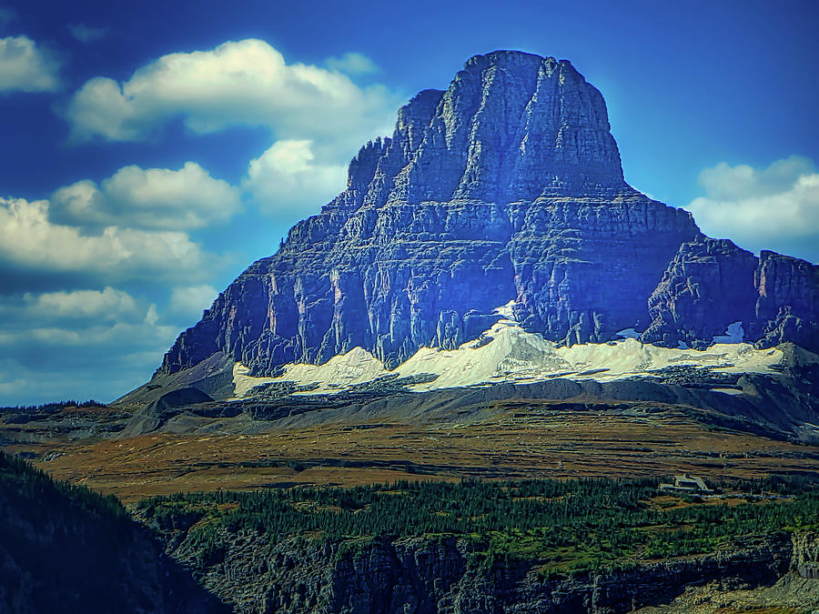Logan Pass Photograph