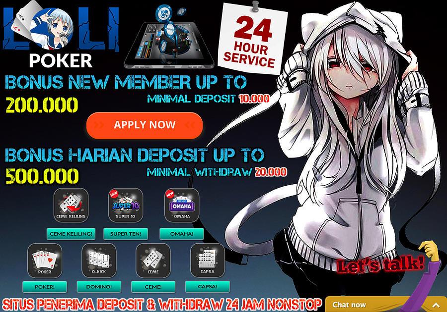 Lolipoker Situs Poker Dan Ceme Dengan Bonus Terbesar Dan Terbaik Se Indonesia Painting By Lolipoker