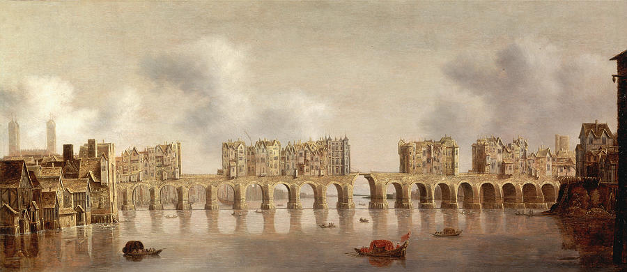 London Bridge 1632 Photograph