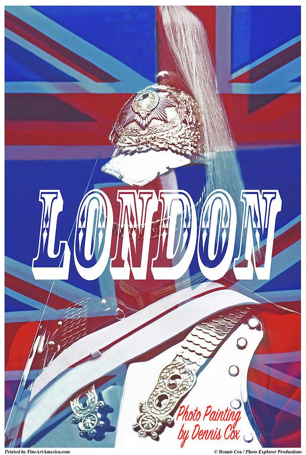London Travel Poster Photograph