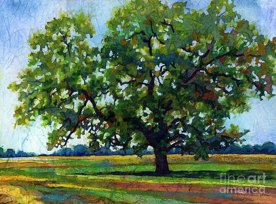 Lone Oak Painting