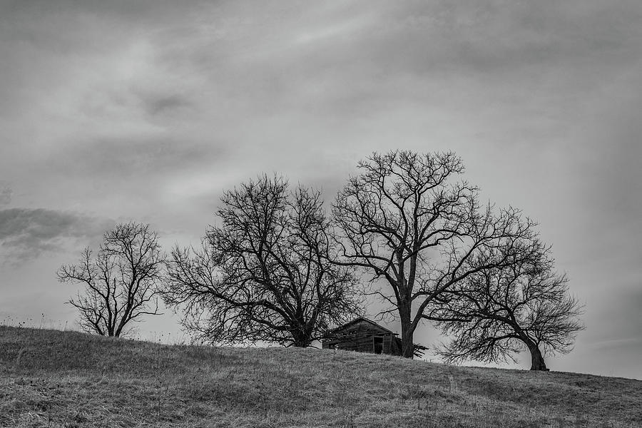 Landscape Photograph - Lonely Farm House  by Scott Smith