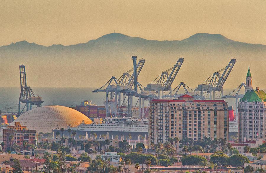 Long Beach Vista Photograph
