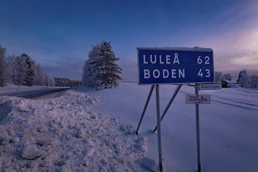 Lule Photograph - Long Way To The Hotel by Dan Vidal