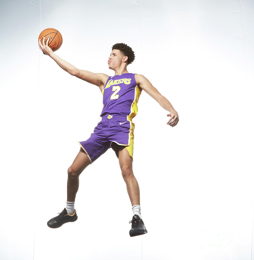 Lonzo Ball Photograph by Nathaniel S. Butler
