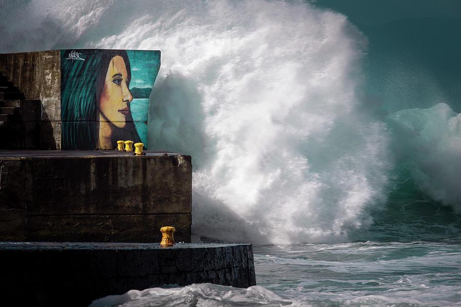 Looking At The Sea 03 by Edgar Laureano