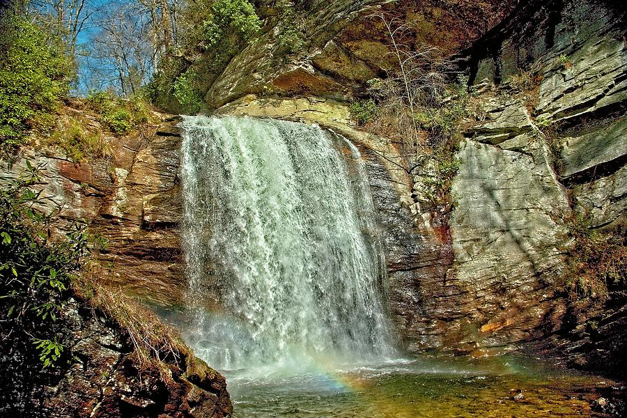 Looking Glass Falls Moment by Allen Nice-Webb